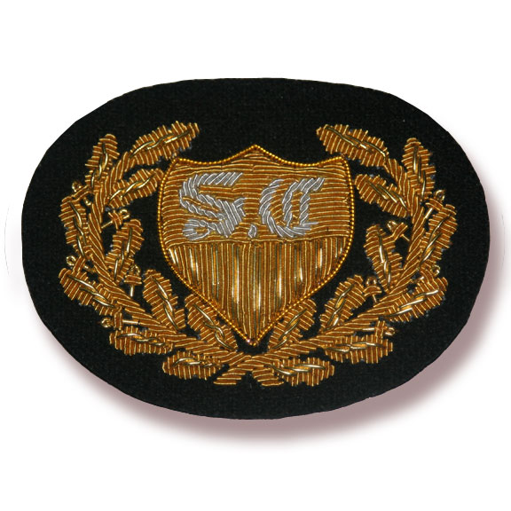 Sanitary Commission Hat Badge