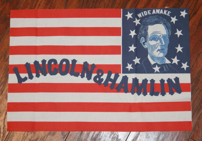 Lincoln Wide Awake Banner